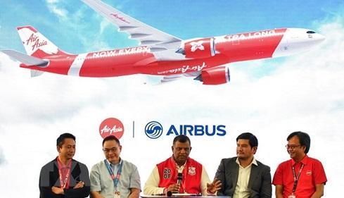 Hãng AirAsia đặt mua 100 máy bay của Airbus trị giá 30 tỷ USD