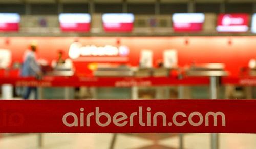 Hãng hàng không lớn thứ nhì Đức nộp đơn xin phá sản