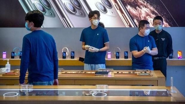 Apple đối mặt với doanh số iPhone ảm đạm khi nhu cầu giảm mạnh