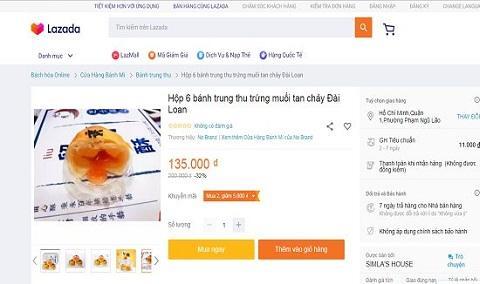 Bánh trung thu Trung Quốc siêu rẻ tràn ngập chợ mạng