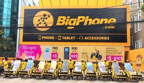 Thế giới Di động có cửa hàng đầu tiên ngoài Việt Nam