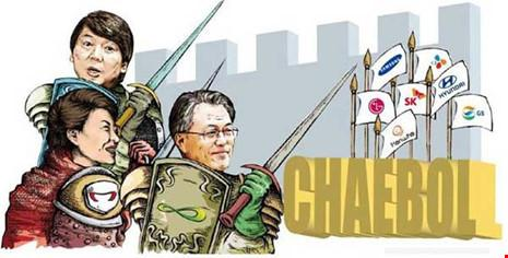 Những siêu tập đoàn gia tộc ở Hàn Quốc