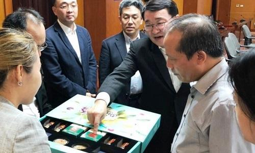 Tập đoàn CJ muốn thành lập một trung tâm nghiên cứu gạo tại Việt Nam