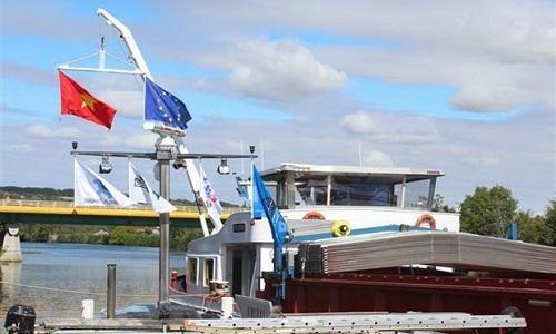 Mở tuyến vận tải thủy từ nội địa Pháp đến Việt Nam