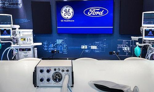 Ford và GE Healthcare hợp tác sản xuất 50.000 máy thở trong 100 ngày