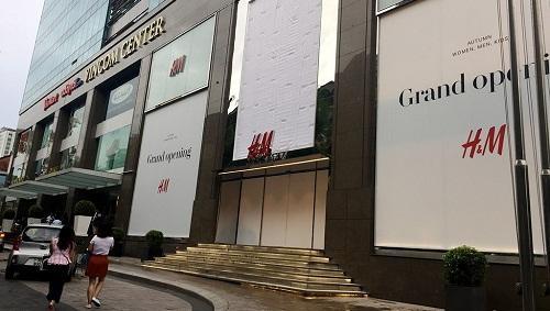 Cửa hàng H&M đầu tiên tại Việt Nam khai trương ngày 9/9