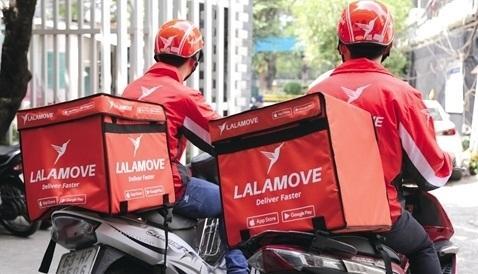 Lalamove chen chân cửa hẹp