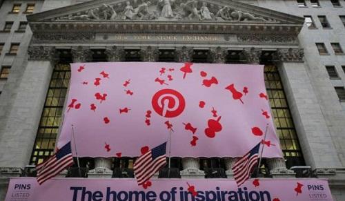 """Pinterest lên sàn, là IPO """"hot"""" thứ nhì năm nay"""
