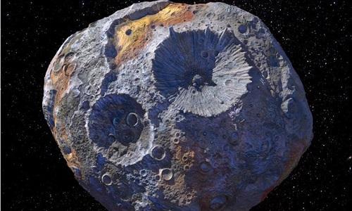 Tiểu hành tinh có thể giúp mọi người trên Trái Đất thành tỉ phú