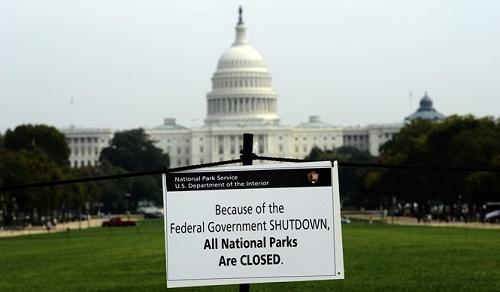 Chính phủ Mỹ trước nguy cơ đóng cửa