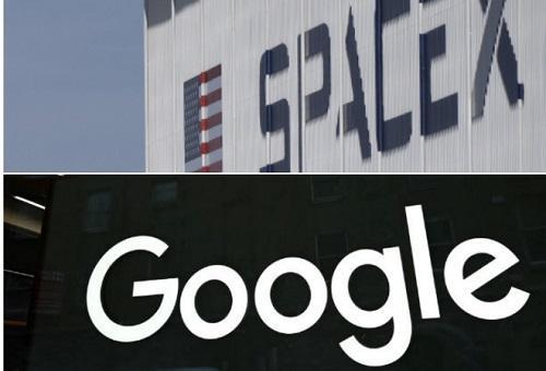 SpaceX ′bắt tay′ với Google Cloud phát triển băng thông rộng vệ tinh