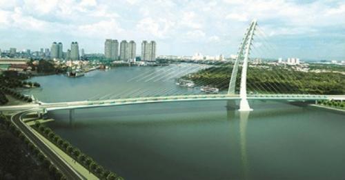 Đồng ý chủ trương xây cầu Thủ Thiêm 4 nối Quận 2 và Quận 7