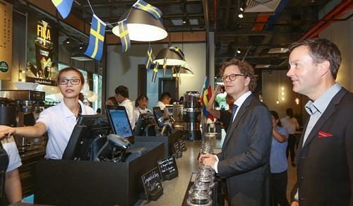 Wayne′s Coffee của Thụy Điển đã có mặt tại Việt Nam