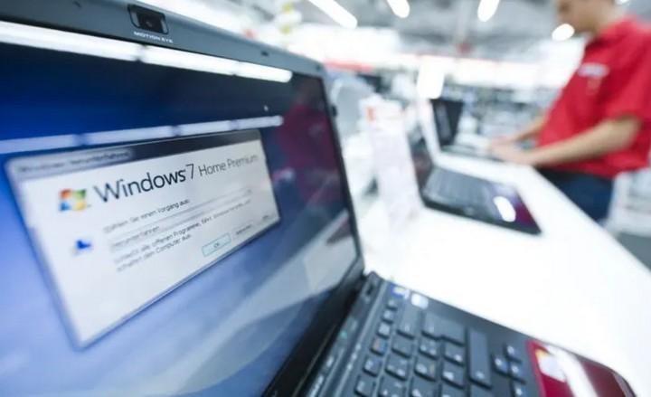 Thế giới vẫn chưa sẵn sàng từ bỏ Windows 7